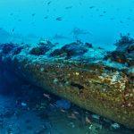 Rinvenuto all'interno del porto di Messina il relitto di un piroscafo in legno