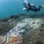 Parco archeologico di Baia, compaiono due nuovi mosaici