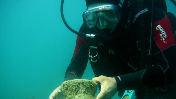 A Foggia, le scoperte sommerse nei fondali Albanesi