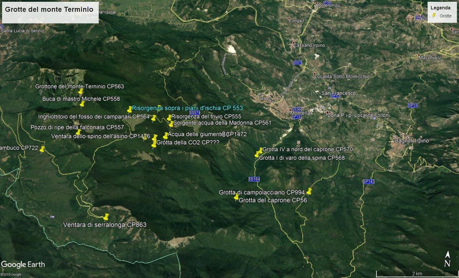 Speleo sub campagna esplorativa nel settore nordoccidentale dei Monti Picentini